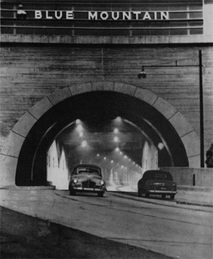 Original Two-Lane Turnpike Tunnel